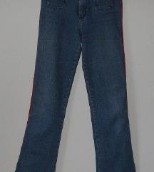 Hlače, jeans, št. XS, XXS