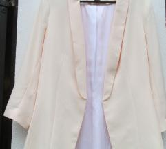 H&M baby pink blazer