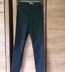 Črne skinny hlače visoki pas primark