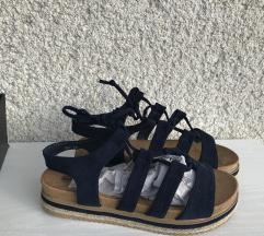 Modri sandali / gladiatorke