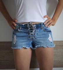 Jeans kratke hlače, hotke XS