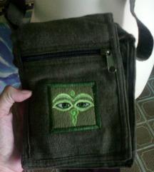 nova psy sariko original torbica,zelena