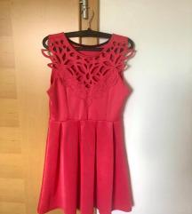 Čudovita roza oblekca 🤍