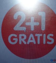 2 + 1 GRATIS in poštnina moj strošek
