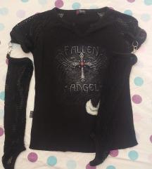 Goth črna majica