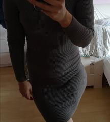 Cold shoulder obleka