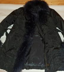 Plašč-bunda,pravo krzno,nov,vel.40-42