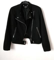 ZNIŽ.H&M črna biker jakna