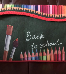 Zložljiv zaboj BACK TO SCHOOL