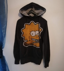 Simpsons pulover s kapuco