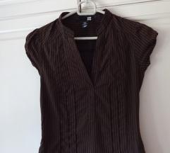 Bluza temno rjava H&M
