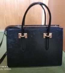 H&M fake usnjena torbica (A4) - ZNIŽANJE