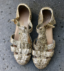 BLEŠČIČNI sandali čevlji OMARA