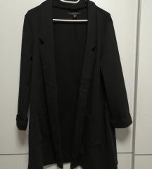 Črn daljši blazer