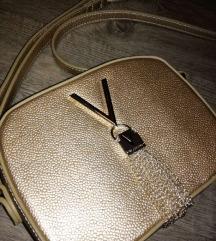 Nova VALENTINO zlata torbica za čez ramo