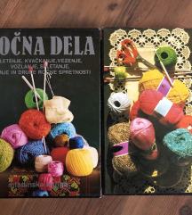 2 knjigi Ročna dela-obe skupaj 12€