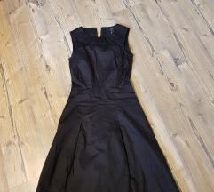 Črna elegantna obleka S