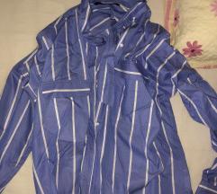 modro bela srajčka
