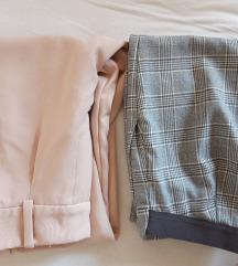Dvoje elegantne hlače XS ali S