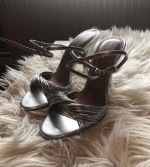 Modni sandali - silver ZARA