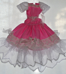 oblekice za punčko barbie