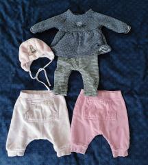 Next hlače in pajac za deklice