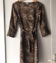 Tigrasta obleka H&M NOVO