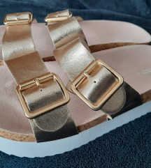 Rose-gold novi sandali