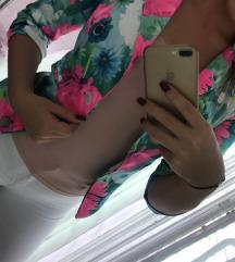 Modni blazerček z rožicami