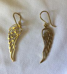 Novi uhani - angel wings