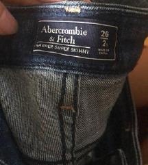 hlače jeans A&F