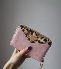 Mehka roza denarnica