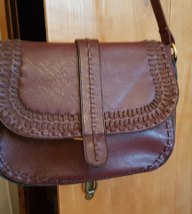 Bordo rdeča vintage torbica