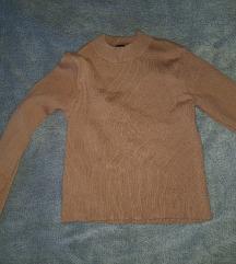 Crop top rebrast pulover