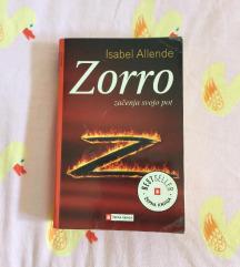 Knjiga Zorro - mehka vezava
