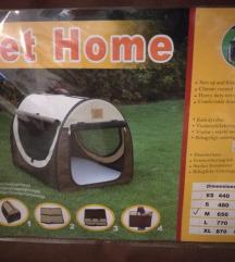 Zložljiva pasja hiška za avto ali doma