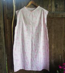 Ročno izdelana cute roza spalna srajca
