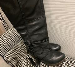 Usnjeni škornji Miss Sixty