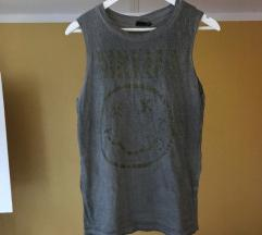 Nirvana majica vojaško zelene barve+ptt