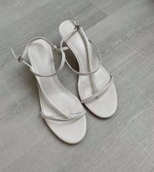 MANGO usnjeni sandali 39