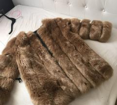 umetno krzno jakna