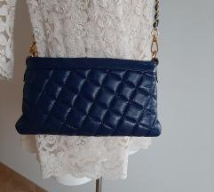 Usnjena torbica, clutch, crossbody, PC 112€