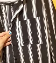Elegantna srajčka črno-bela / srajca