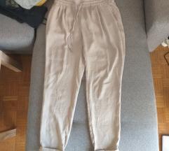 Bež haremske hlače Zara