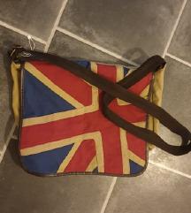 Nova torbica z zastavo Velike Britanije