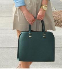 H&M zelena torbica