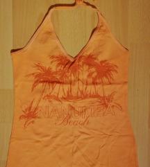 Oranžna poletna majica