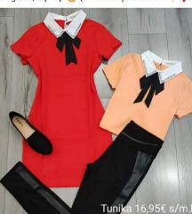 Rdeča tunika/oblekica M