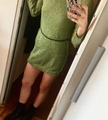 Zelena tunika / daljši puloverček (-30%)