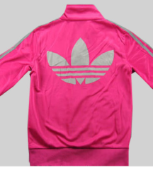 Pink jaknica Adidas